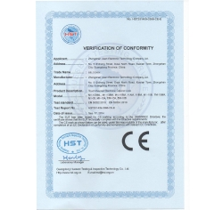 Sauna cabinet lock - CE certificate of cover