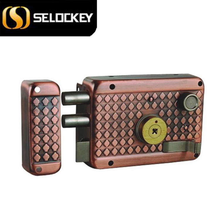 Anti-theft door lock system