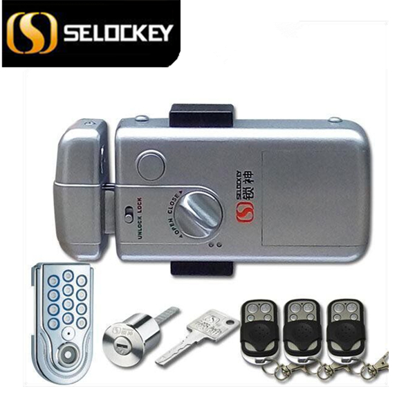 Digital lock with high security, electrionc lock, wireless lock for sale.(10CM-LY15CR2-ST)