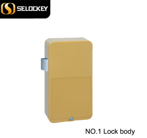 Unique design ID card electronic hidden cabinet lock for mailbox(M1-L1)