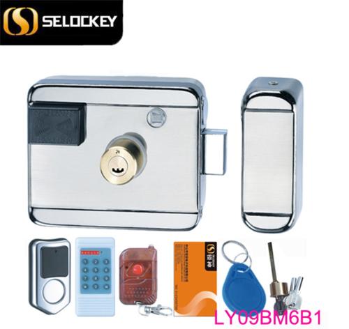 Burglar proof electronic lock foor doors(LY09BM6B1)